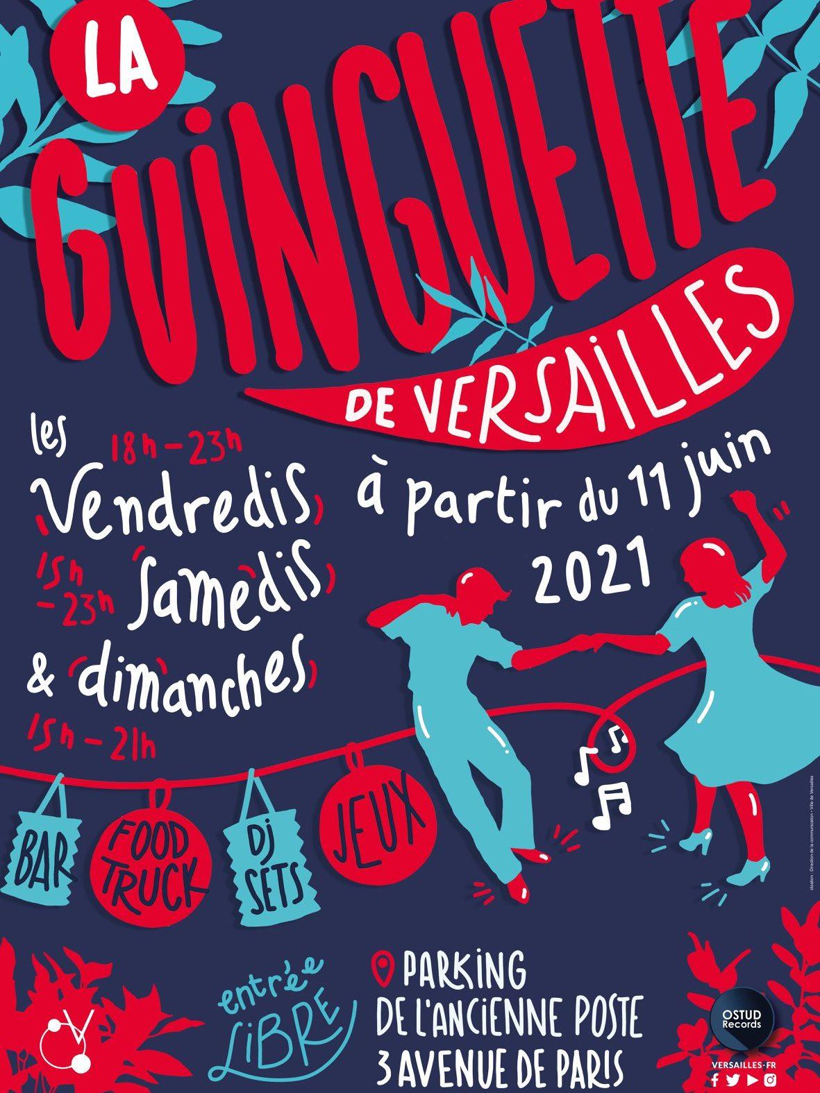 La Guingette de Versailles revient!
