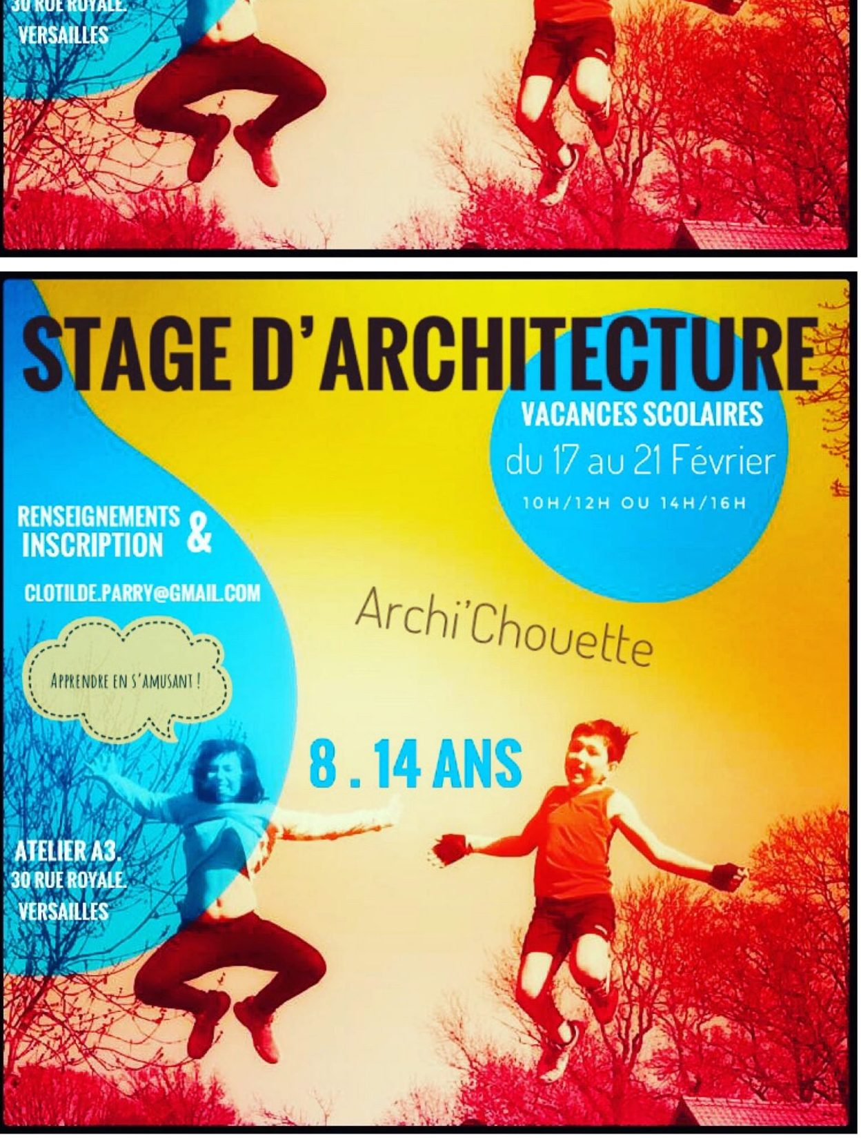 Stage Archi'chouette