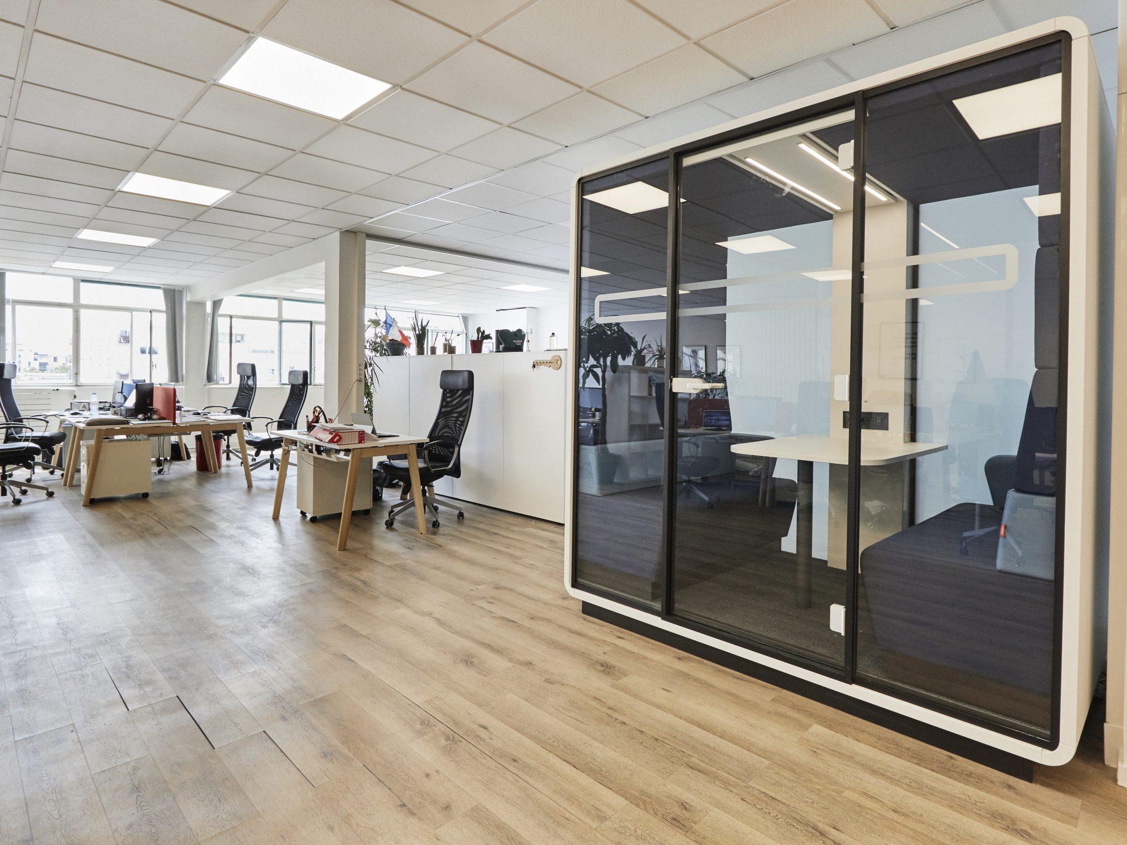 Photo SLSTUDIO – Aménagement et décoration d'espaces tertiaires