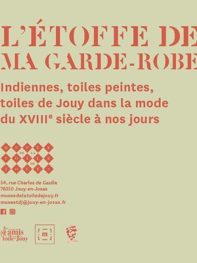 Expo L'Etoffe de ma garde-robe au musée de La Toile de Jouy