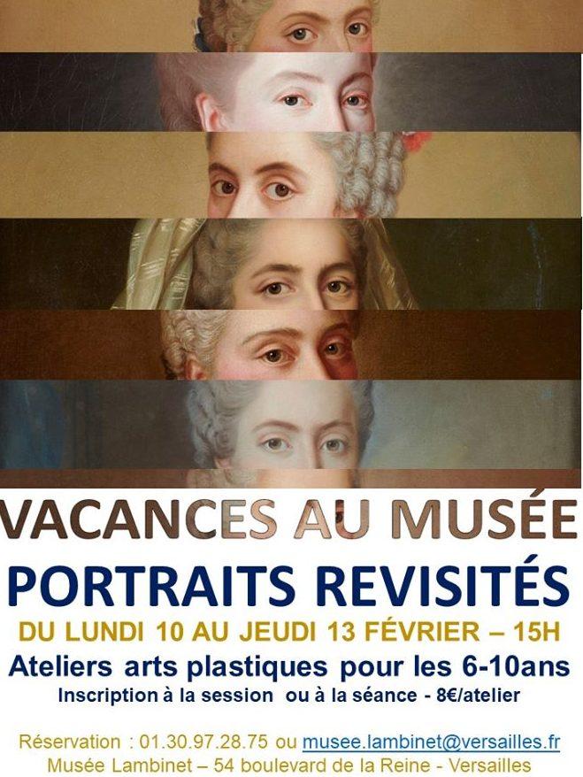 Portraits revisités – vacances au musée