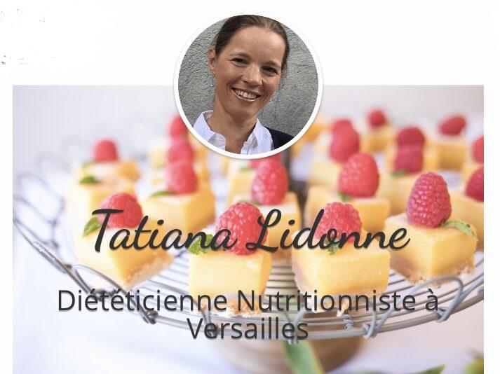 Photo Tatiana Lidonne – diététicienne, accompagnement individuel et collectif