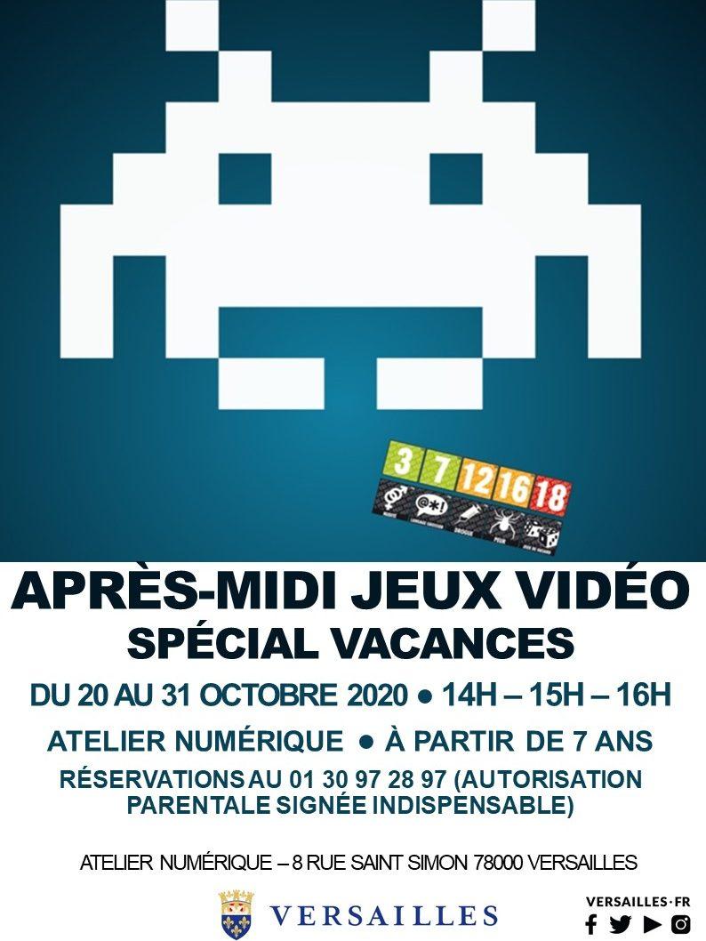 APRÈS-MIDI JEUX VIDÉO