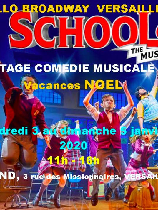 Stage de Comédie Musicale Kids avec Hello Broadway