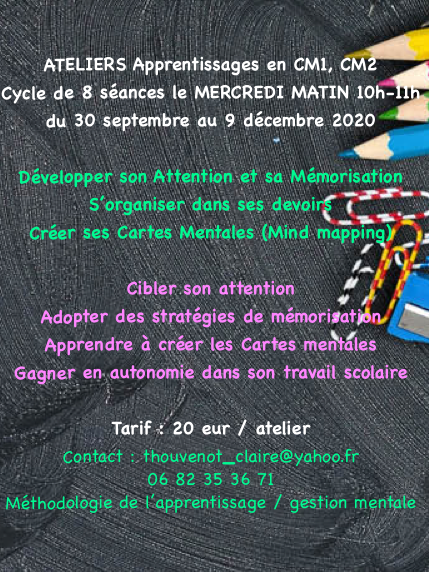 Ateliers Apprentissages CM1 CM2