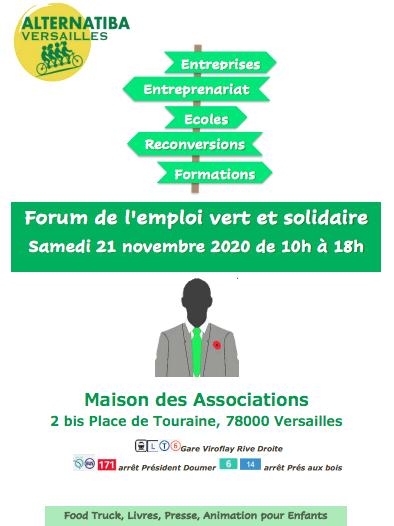 Forum de L'Emploi Vert et Solidaire