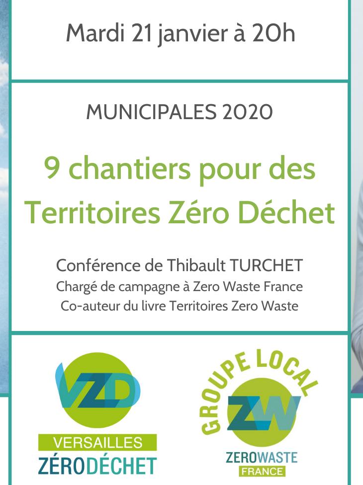 """Conférence """"9 chantiers pour des Territoires Zéro Déchet"""""""