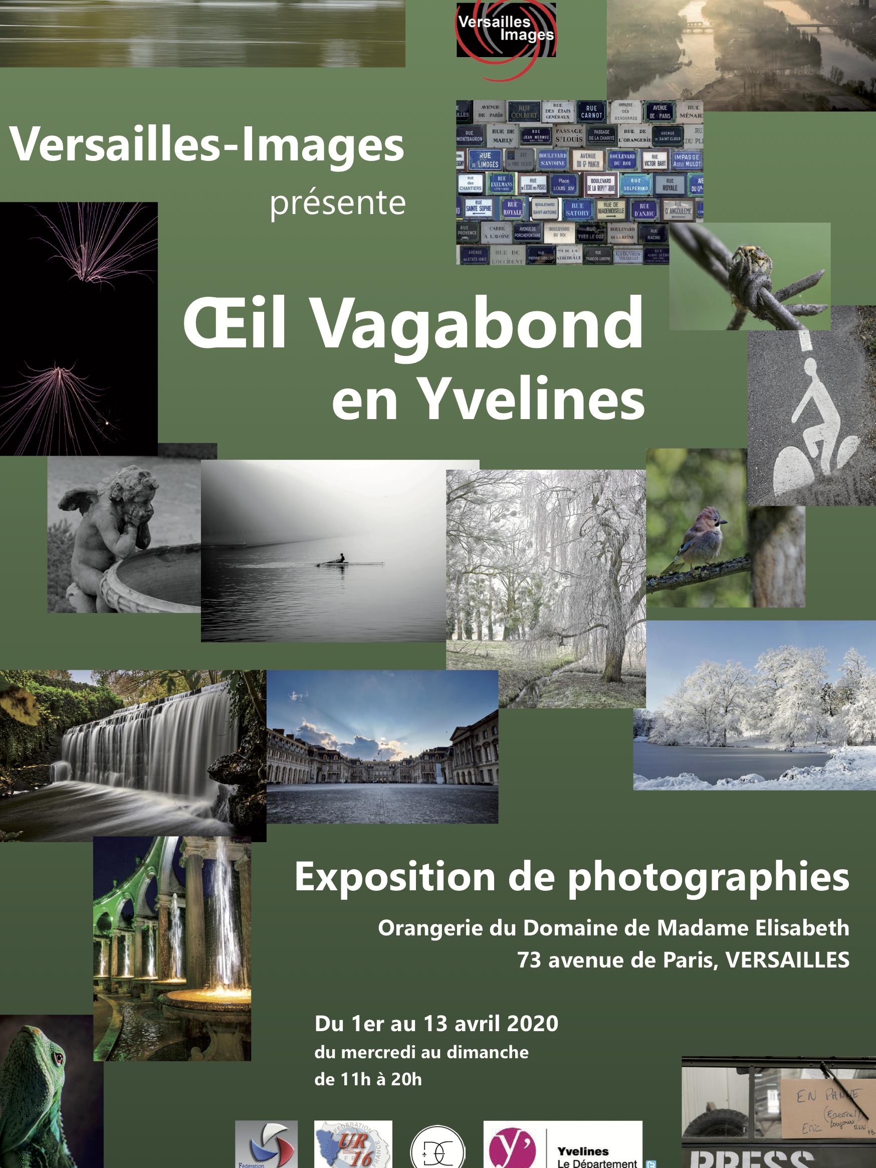 Exposition Oeil Vagabond en Yvelines