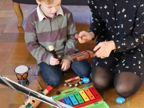 Photo L'atelier des petits musiciens