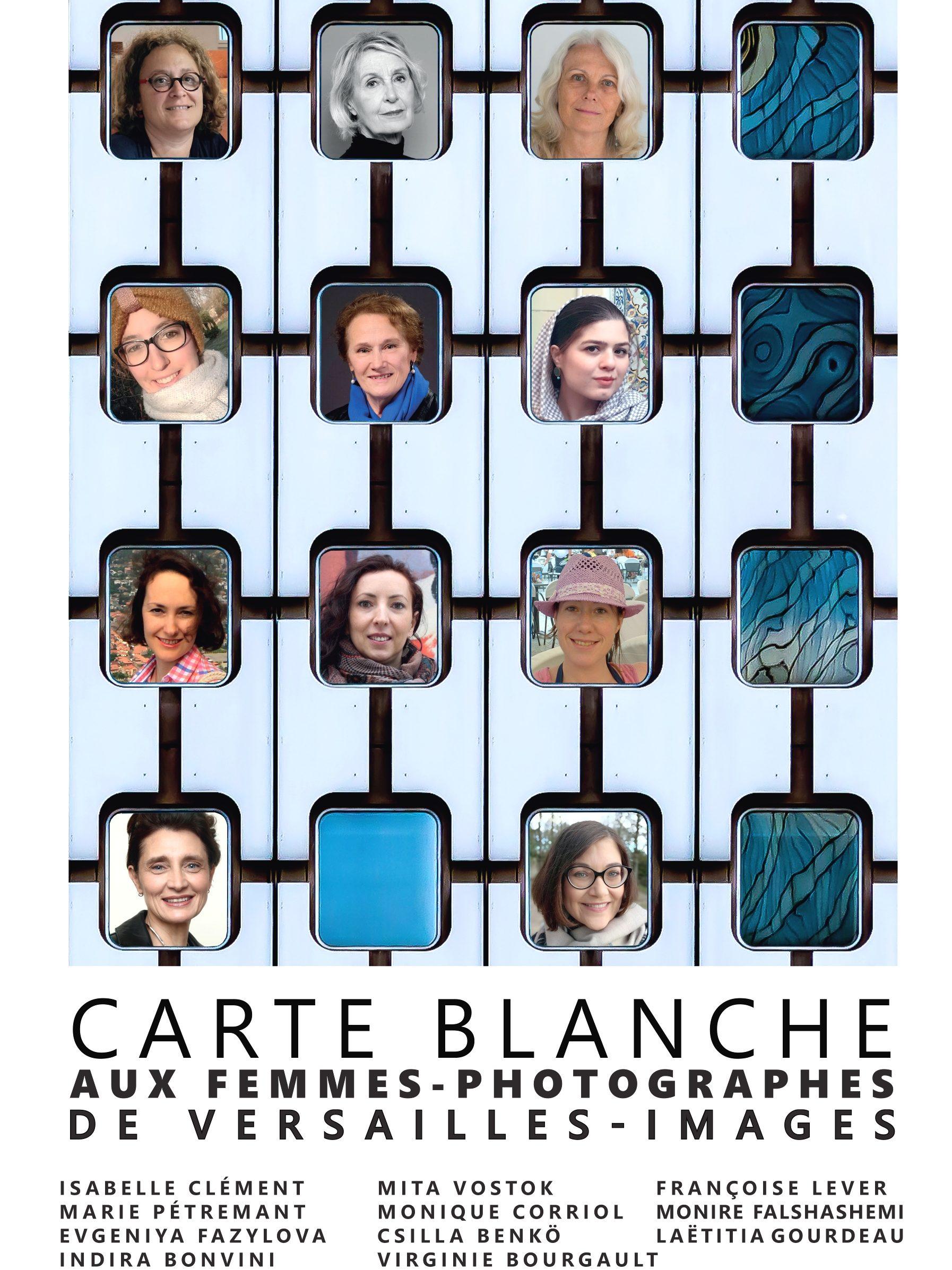"""Expo """"Carte Blanche aux femmes-photographes de Versailles-Images"""""""