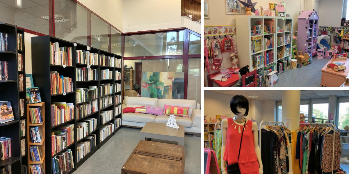 Ressourcerie Le Petit Bazar à la Celle-Saint-Cloud