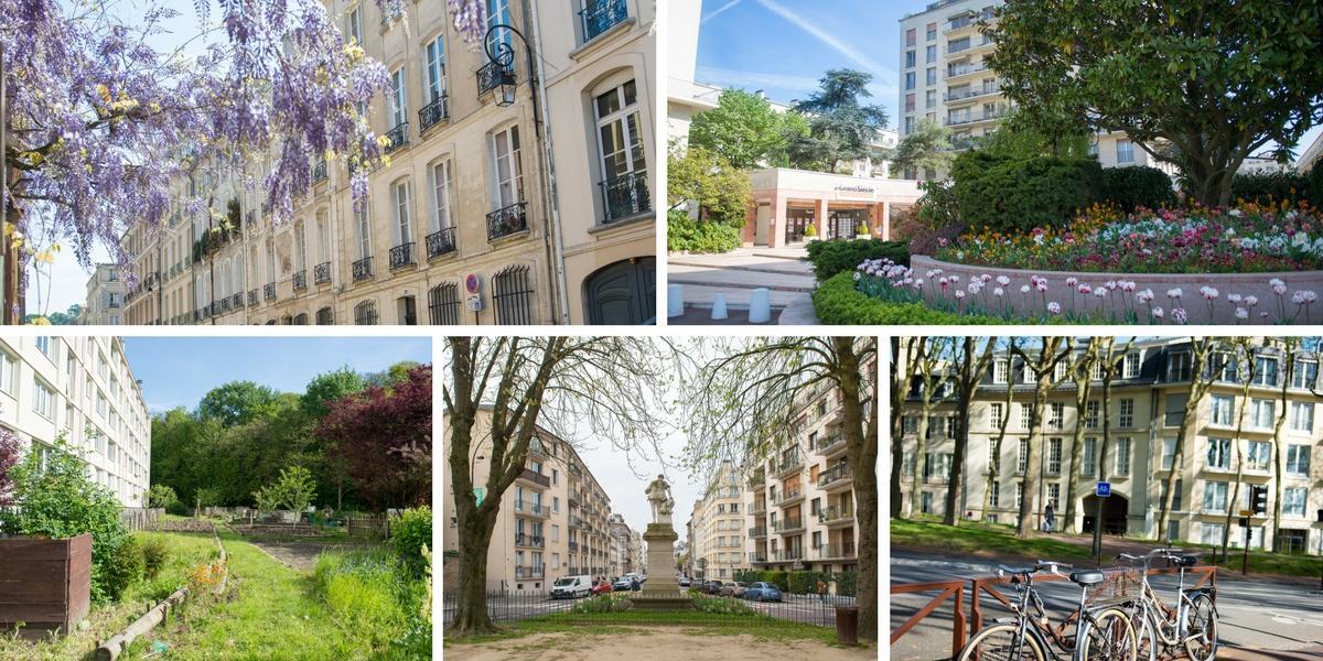 Une idée de l'offre logement enappartement (de gauche à droite, quartier Saint-Louis, Grand-siècle, Jussieu, quartier rive-droite ou Montreuil) © AnnaClick
