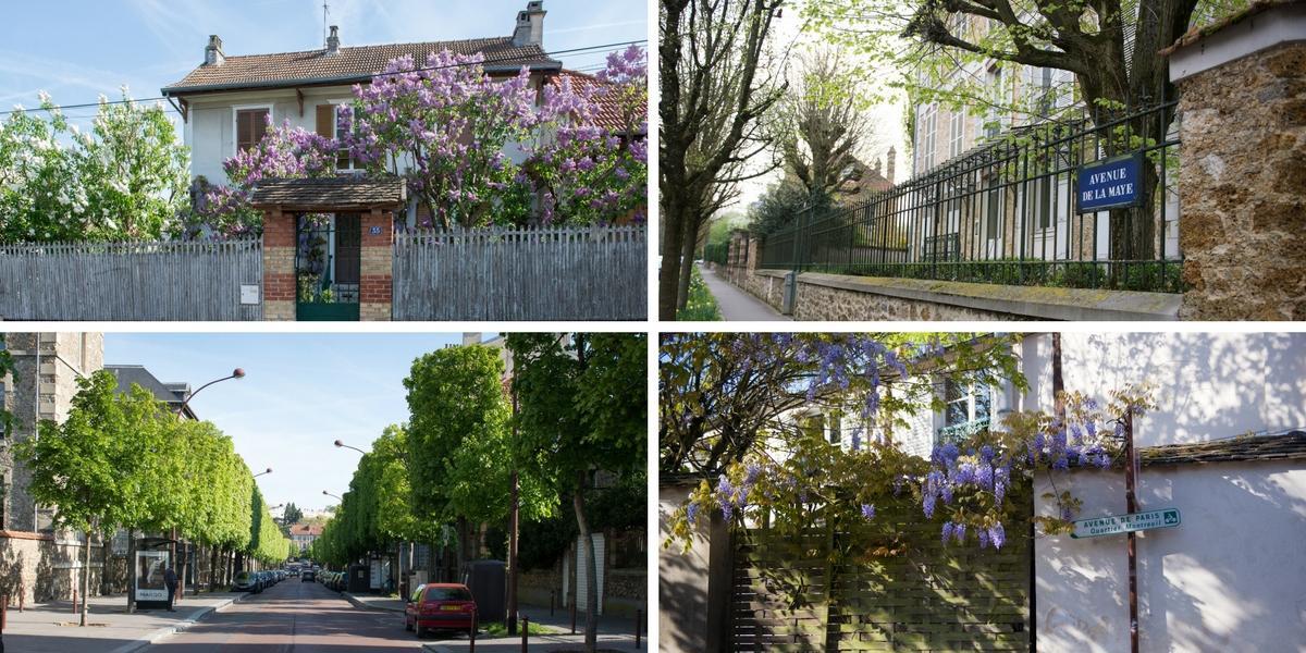 Une idée de l'offre logement enmaison (de gauche à droite, quartier Porchefontaine, Plateau St Antoine, Montreuil) © AnnaClick