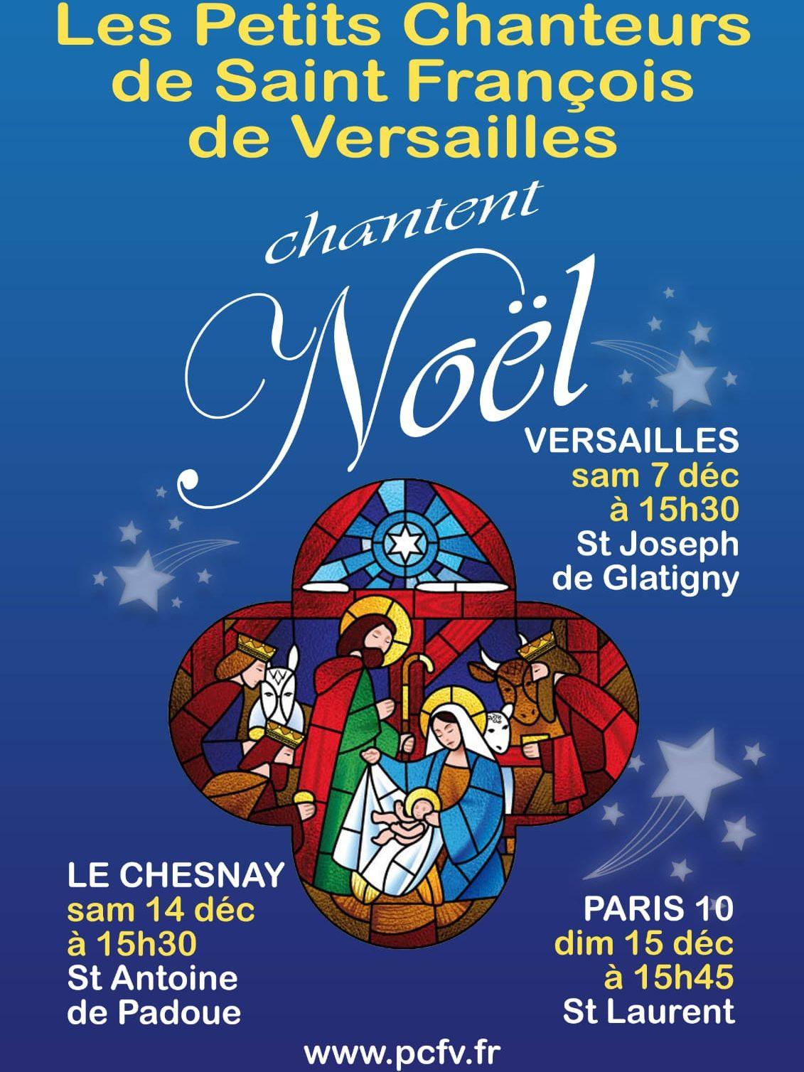 Concert de Noël des Petits Chanteurs de Saint François