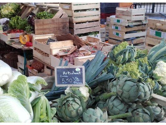 Photo Primeur Bio du marché de Porchefontaine