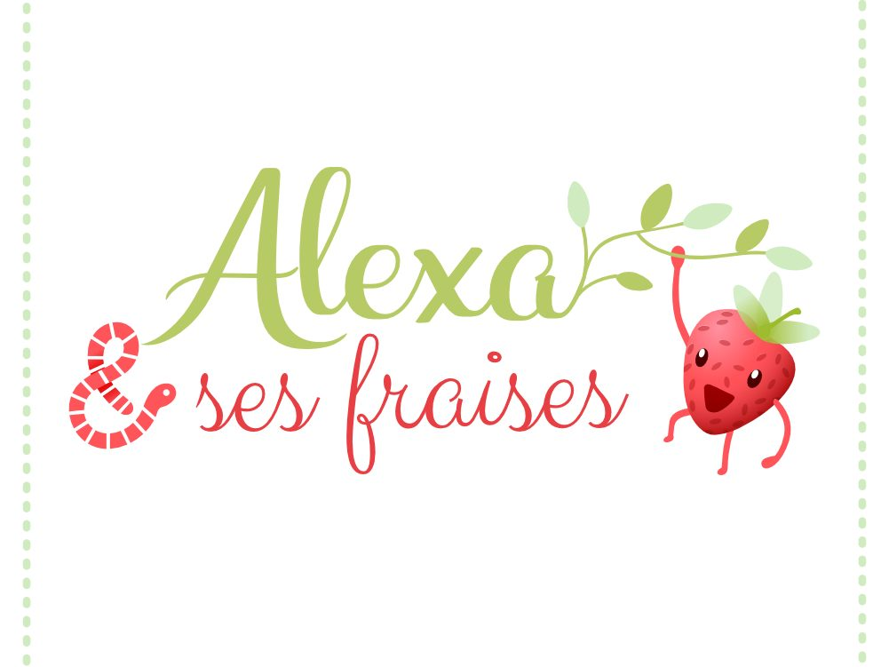 Photo Alexa et ses fraises